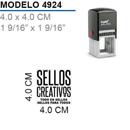 Sello-Autoentintable-Printy-4924-Negro