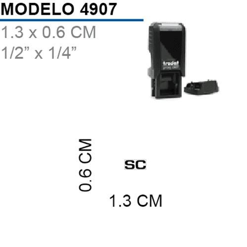 Sello-Autoentintable-Printy-4907-Negro