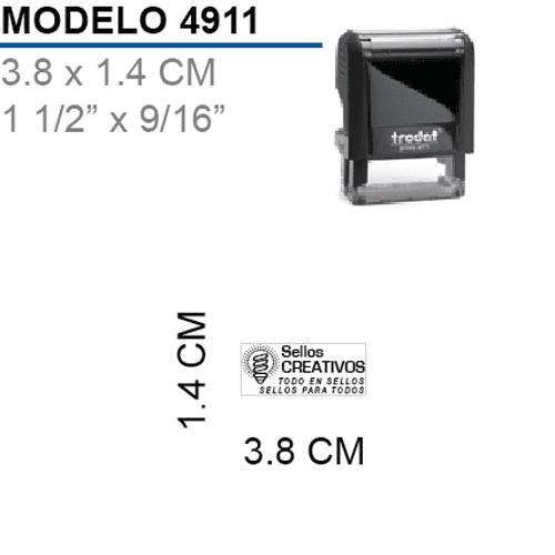 Sello-Autoentintable-Printy-4911-Negro