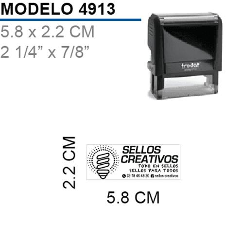 Sello-Autoentintable-Printy-4913-Negro