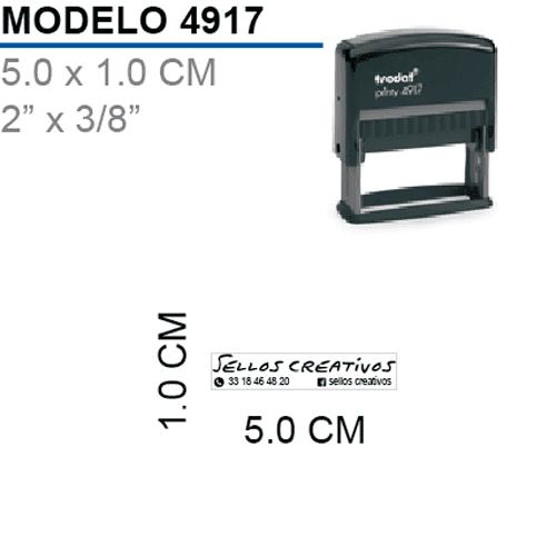 Sello-Autoentintable-Printy-4917-Negro