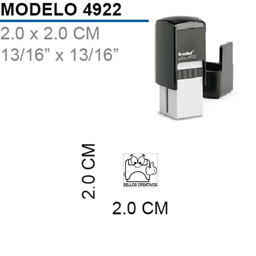 Sello-Autoentintable-Printy-4922-Negro