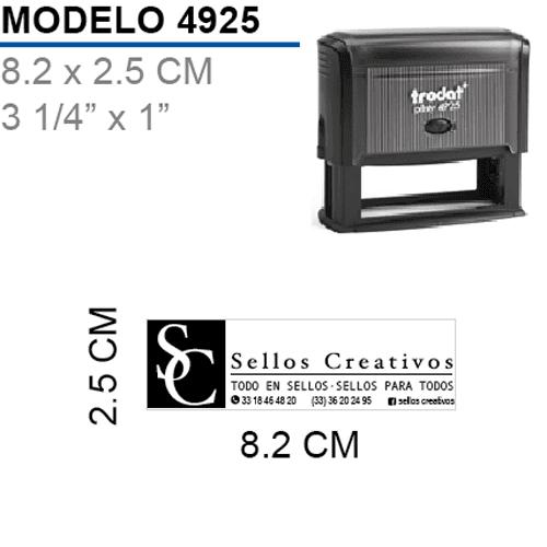 Sello-Autoentintable-Printy-4925-Negro