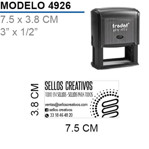 Sello-Autoentintable-Printy-4926-Negro