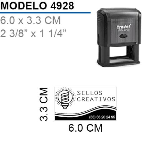 Sello-Autoentintable-Printy-4928-Negro