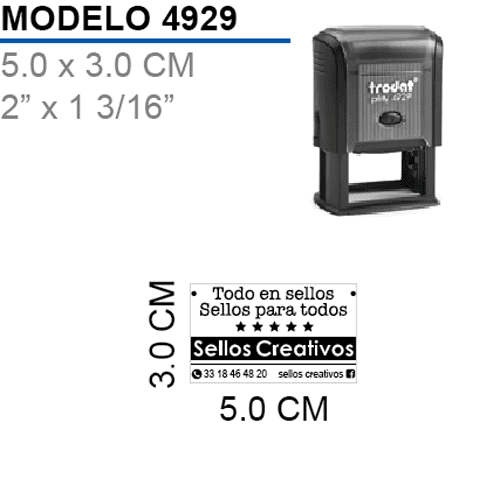 Sello-Autoentintable-Printy-4929-Negro