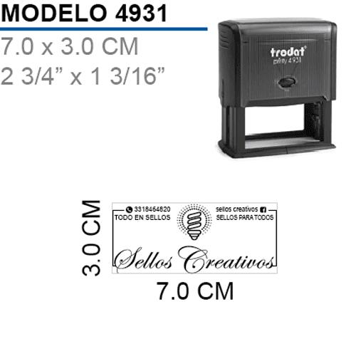 Sello-Autoentintable-Printy-4931-Negro