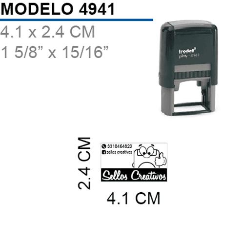 Sello-Autoentintable-Printy-4941-Negro