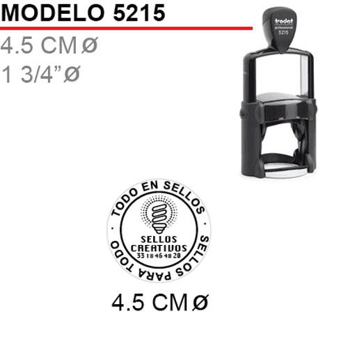 Sello-Autoentintable-trodat-5215-Negro