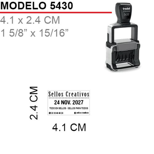 Sello-Fechador-Trodat-5430-Negro