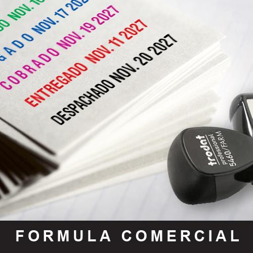 Fechador fórmula comercial