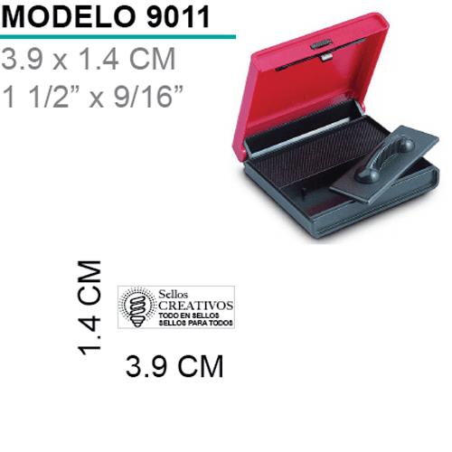 Sello-almohadilla-9011-Negro